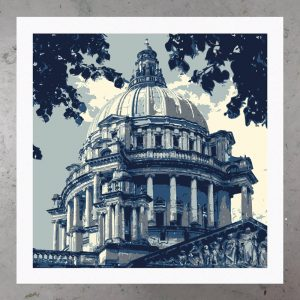 belfast city hall print