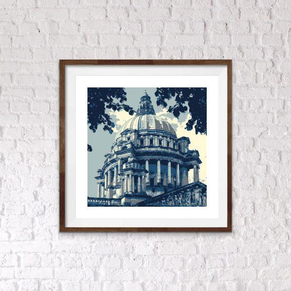 belfast city hall print