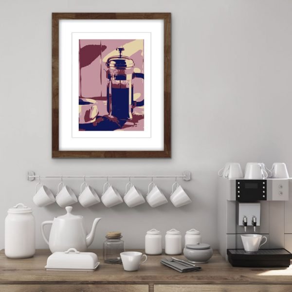 limited edition coffee screenprint