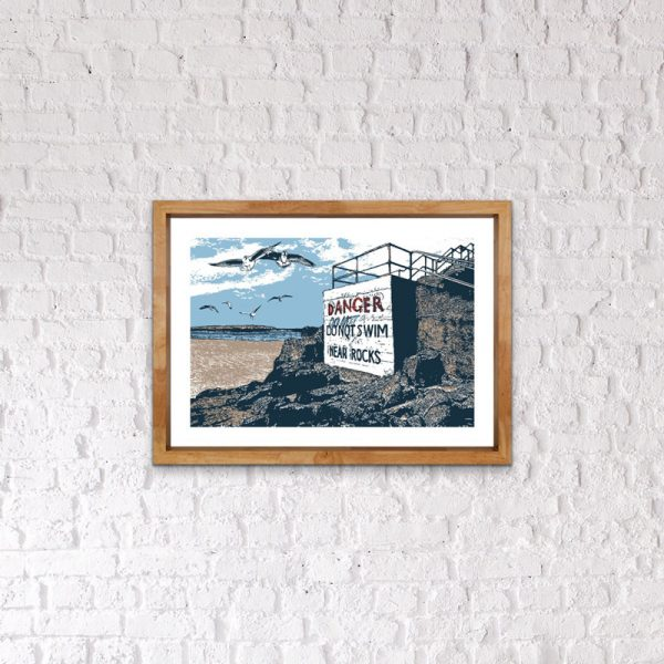art print portstewart north coast