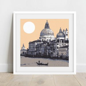 venice screenprint